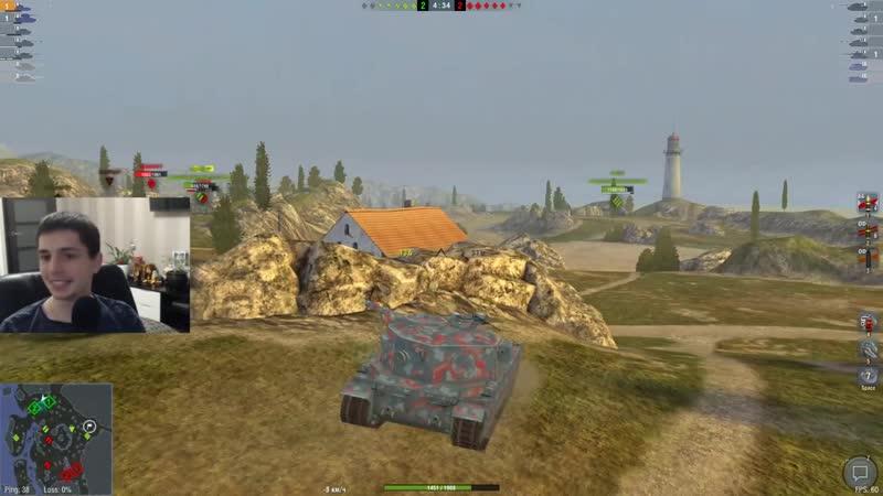 Beast World of tanks blitz FV215b 183 ДИКО ФАНОВЫЙ ТАНК🔥КАК ИГРАТЬ НА БАБАХЕ🔥 ОБЗОР WOT BLITZ