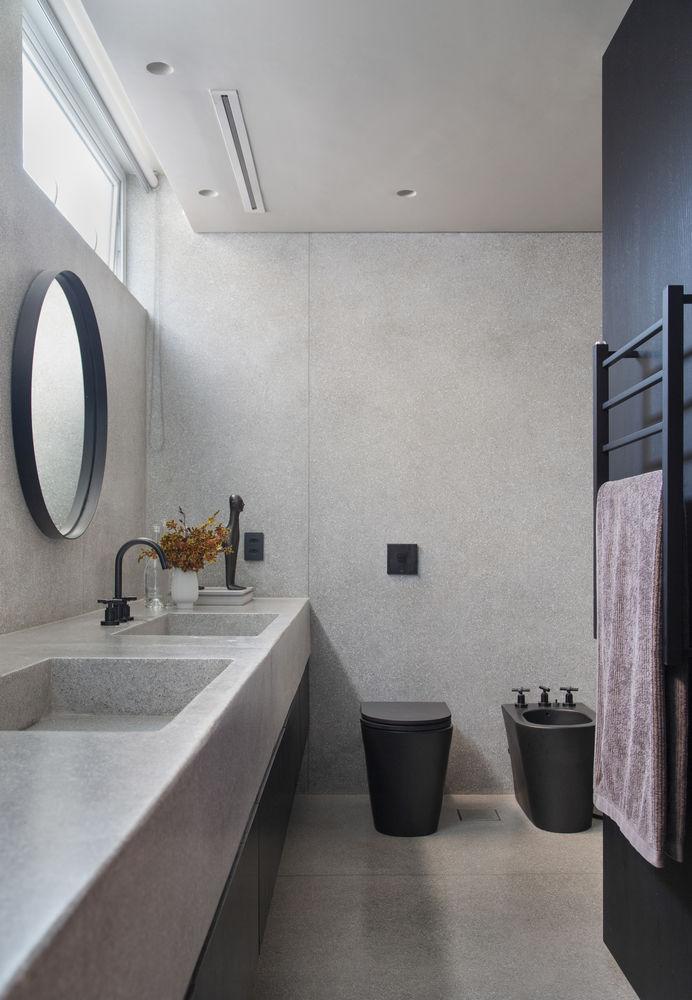 Модернистские и минималистские образы в интерьере квартиры от BC Arquitetos
