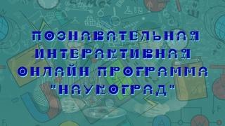 «Наукоград» - познавательная интерактивная онлайн-программа