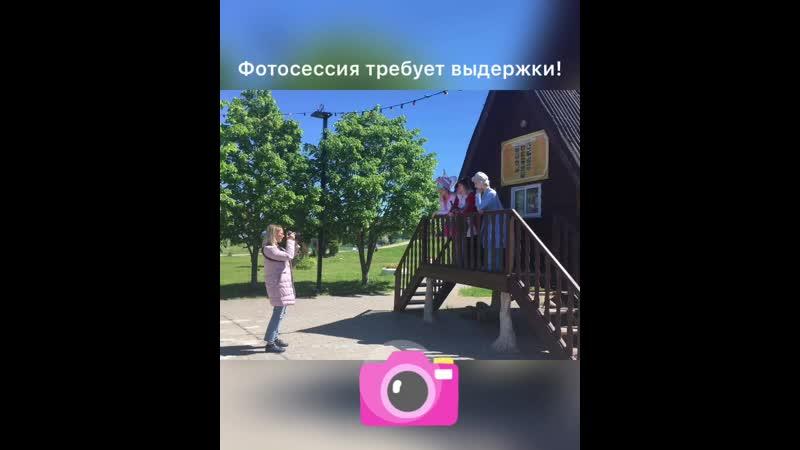 Бэкстейдж фотосессия с Яной Крутиковой