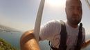 Прыжок с крана.Тарзанка.Турция,Аланья,сентябрь 2015/ Кран,75 метров