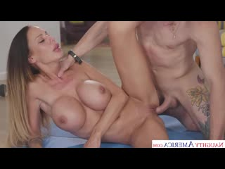 McKenzie Lee - Mckenzie Lee Works Up A Sweat Before Fucking Sons Friend
