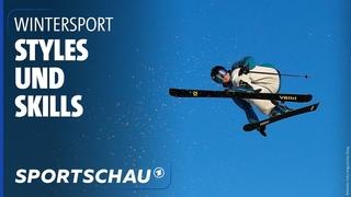 Saisonauftakt im Stubaital: Die besten Freeskier*innen der Welt   Sportschau