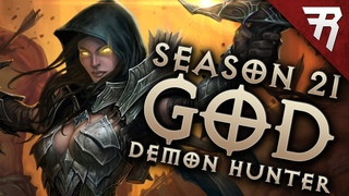 Diablo 3  Demon Hunter Build: Gears of the Dreadlands GoD GR 144+ (Season 21 Guide)