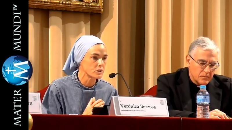 """Sor Verónica Berzosa fundadora de Iesu Communio Conferencia Testigo de muchos síes"""""""