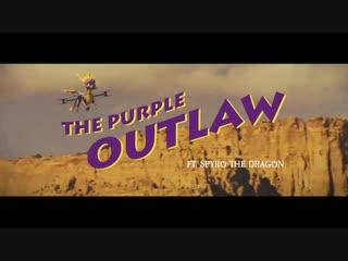 Spyro i would totally watch this movie, i love westerns #spyrotosnoop #spyrodrone