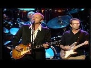 Mark Knopfler, Eric Clapton, Sting & Phil Collins - Money for Nothing [Monserrat (1997)]