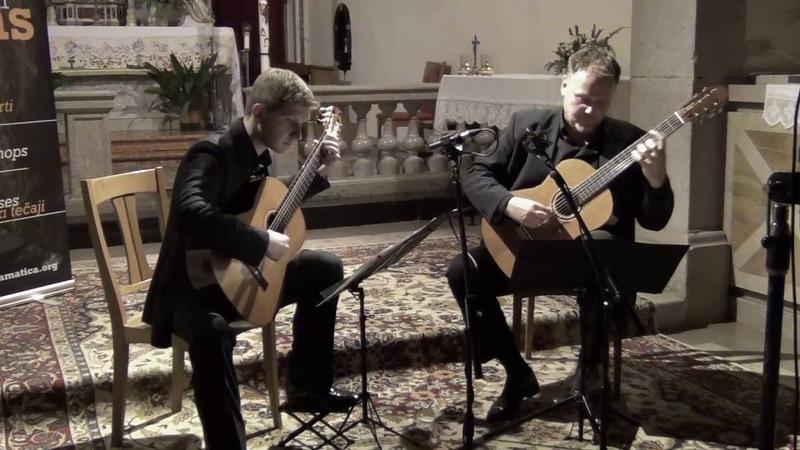 Pietro Domenico Paradisi Toccata Marko Feri Janoš Jurinčič guitar duo