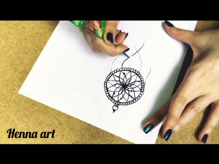 Henna art | Ловец снов мехенди