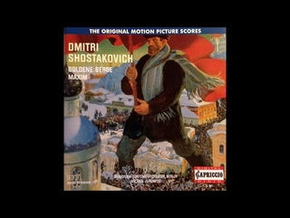 Dmitri Shostakovich arr. Atovmyan: The Maxim trilogy, Suite ex the films Op. 50a (1934-37 arr. 1961)