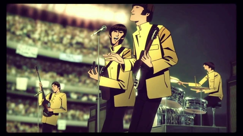 INTRO - THE BEATLES ROCK BAND (VIDEO GAME)
