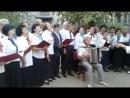 Хор ветеранов БГУ исполняет песню Тоонто Нютаг