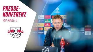 🎥 Die Pre-Match PK vor dem Champions-League-Spiel gegen den FC Liverpool