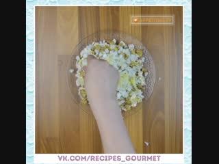 Французский салат.  Оригинальный рецепт. Очень простой вариант любимого блюда!