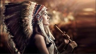Flauta Nativa Americana e Ondas Oceânicas  (Native American Flute and Ocean Waves)