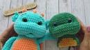 Утяжка мордочки вязаной игрушки. Амигуруми крючком для начинающих