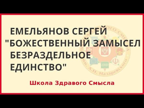 Божественный замысел безраздельное единство Емельянов Сергей