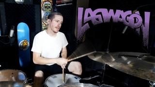 Lagwagon - Mr Coffee (Live Stream Drum Cover) - Kye Smith