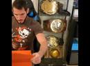 Johnny wrestling on Instagram