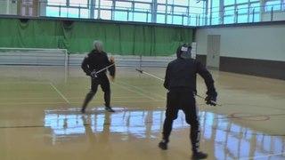 Spear vs Sword and Shield, Nick vs Jake Sparring