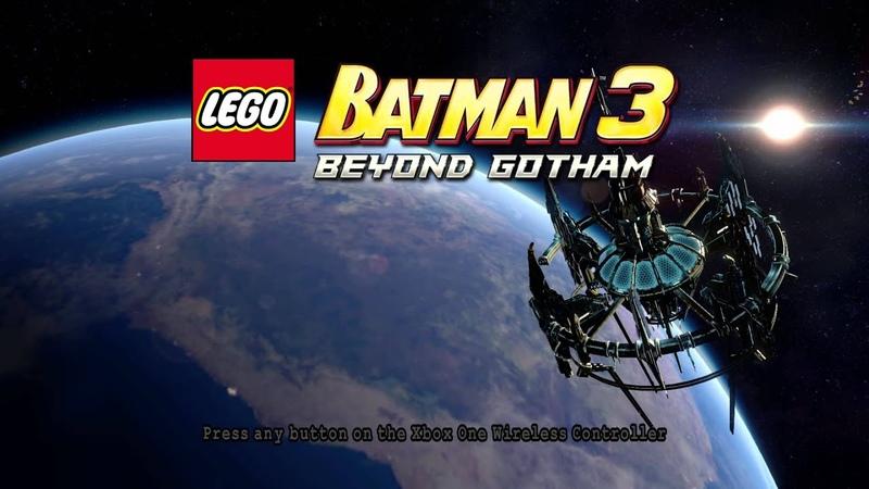 Lego Batman 3 Beyond Gotham Title Screen X1 X360 PS3 PS4 Vita Wii U PC