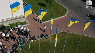 🇺🇦 У Білій Церкві урочисто підняли прапор України 🇺🇦