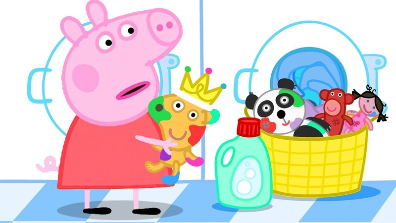 Peppa Pig Official Channel Peppa Pig Goes Shopping