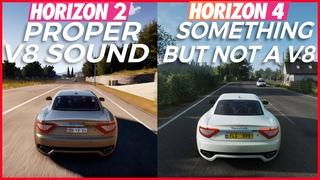 Forza Horizon 4 Engine Sounds vs Forza Horizon 2 Engine Sounds 😂💀[Xbox Series X]