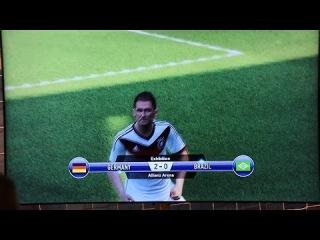 PES 2015 Gamescom Gameplay - DEUTSCHLAND vs BRASILIEN Full Match - 60 FPS [HD] - PS4/XboxOne/PC