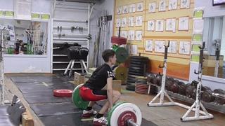 Шумихин Артур, 14 лет, вк 49 На гр  в сед+Пр  2+1 60 кг  4 подх