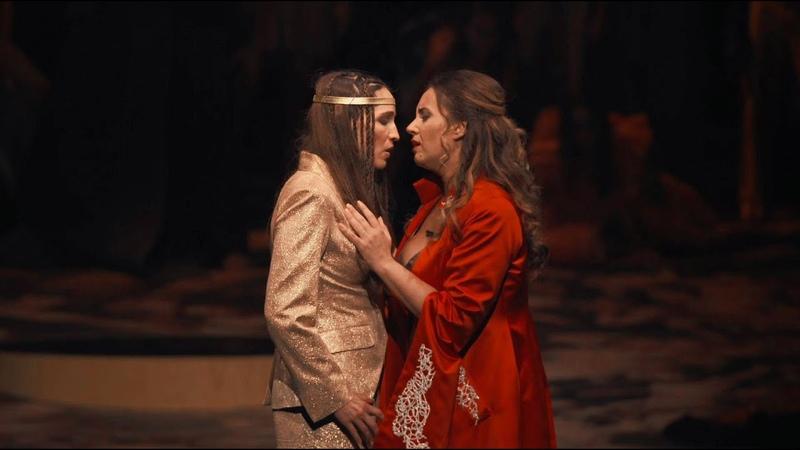 Monteverdi L'Incoronazione di Poppea Pur ti miro Sonya Yoncheva Kate Lindsay