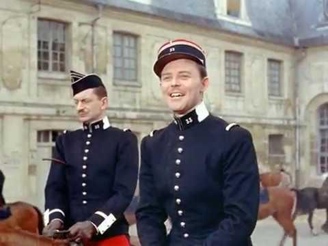 Большие маневры (Франция, 1955) Жерар Филип, Мишель Морган, Брижитт Бардо, советский дубляж