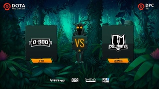 0-900 vs Crewmates, Dota Pro Circuit 2021: S1 - SA, bo3, game 2 [Lex &  4ce]