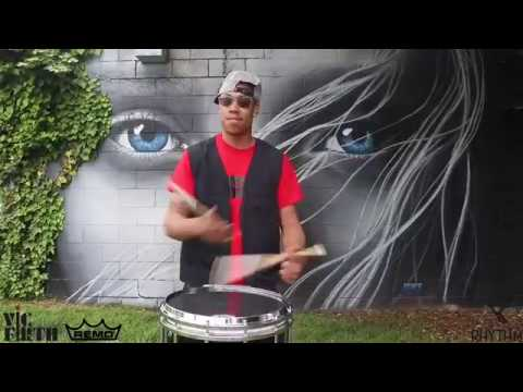 Awesome Snare Drum Solo by Marcus Joyner