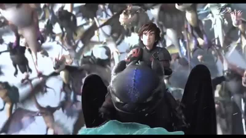 DreamWorks Dragons ⊱ vine ⊰Hiccup Horrendous Haddock III x Toothless