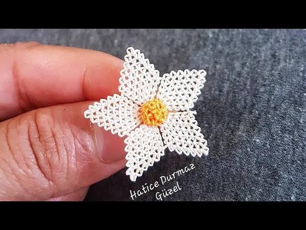 İğne Oyası Çiçek Yapımı Bundan Daha Kolayı Olamaz Diyeceksiniz
