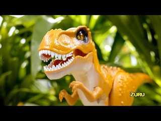 NEW from ZURU Robo Alive!   Robotic Attacking T-Rex   Toy Moves Like a Real Dinosaur!