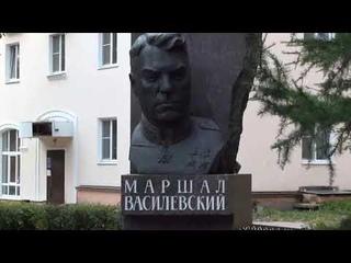 Автопробег к 125-летию со дня рождения  Маршала  Советского Союза А.М.Василевского