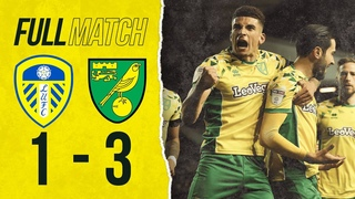 FULL MATCH REPLAY | Leeds United v Norwich City | The Canaries go top after win at Elland Road