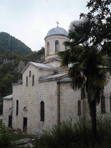 пансионат у монастыря новый афон