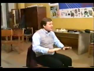 Григорий Гладков  и Юрий Кукин в гримёрке.