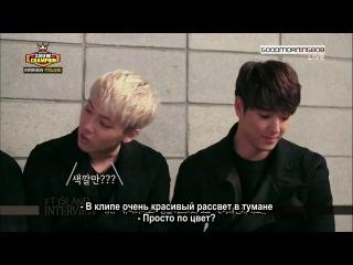 """131120 FTISLAND MBC """"Show Champion"""" Interview (рус. саб)"""