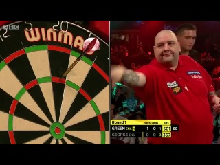Robbie Green vs Richie George (BDO World Darts Championship 2014 / Round 1)