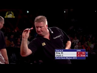 Mervyn King vs Colin Lloyd (Dutch Darts Masters 2013 / Second Round)