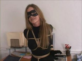 Amber michaels - busty catburglar caught & unmasked (americandamsels)