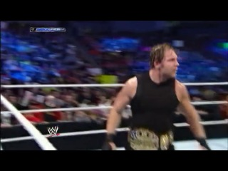 [#My1] WWE Friday Night Smackdown  - The Shield and Triple H Segment