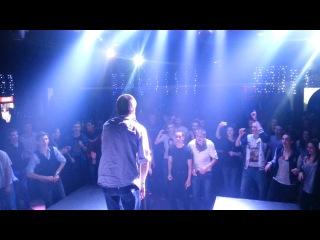 Андрей Будник Live@Manilov Dance Club Kyiv DVIZHMAKERS PANDA SHOW 02 02 2013