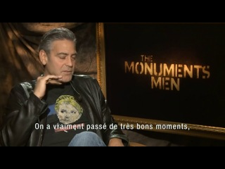 Джордж Клуни, Мэтт Дэймон, Билл Мюррэй, Джон Гудман и Боб Балабан говорят о Жане Дюжардене