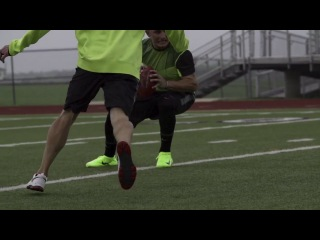 Johnny manziel on the nike vapor ultimate cleat
