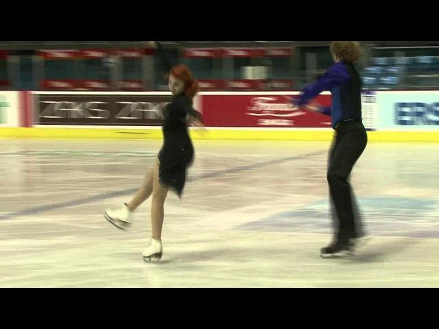 11 E KOSIGINA N MOROSHKIN RUS ISU JGP Croatia Cup 2012 Junior Ice Dance Short Dance